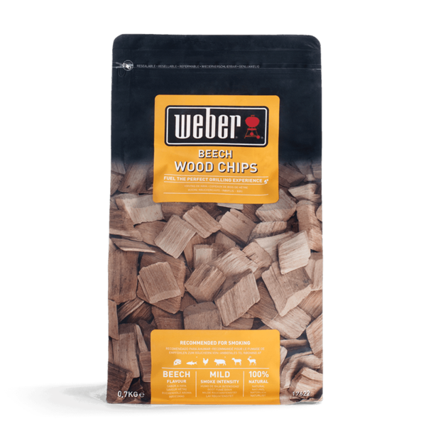 Weber Wood Chips for barbecue smoking - Beech (0.7 kg)