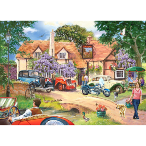 House Of Puzzles Pub Lunch 250 Piece Jigsaw