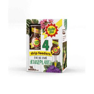 Baby Bio Drip Feeders for Houseplants (4 Pack)