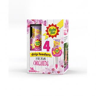 Baby Bio Orchid Drip Feeders 4 x 40ml