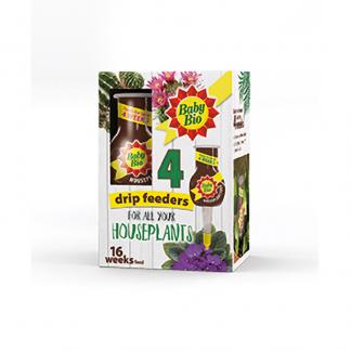 Baby Bio Houseplant Food Drip Feeders (4 x 40ml)