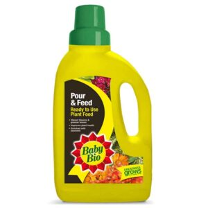 Baby Bio Pour & Feed Ready to Use Plant Food (1 litre)