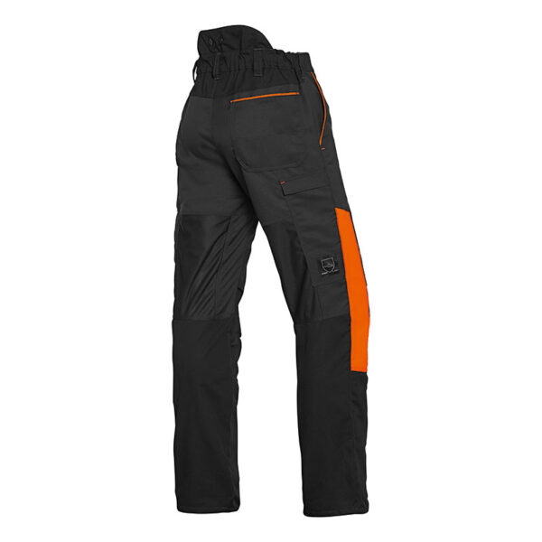 Back of Stihl Function Universal Trousers