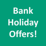 Bank Holiday Offers Banner for Website
