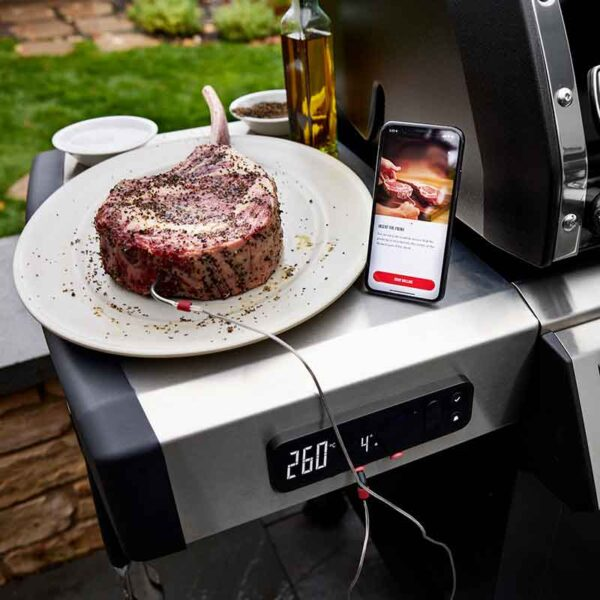 Barbecue to perfection with Weber Connect