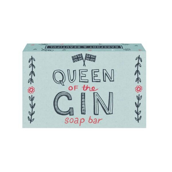 Barefoot & Beautiful Queen Of the Gin Soap Bar 100g