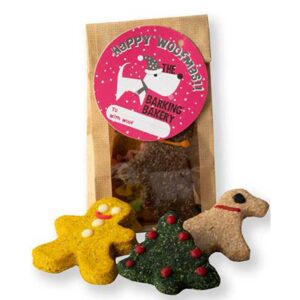 Barking Bakery Yappy Woofmas Cheesey Biscuits packaged