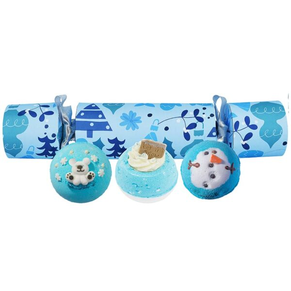 Bomb Cosmetics All I Want For Christmas is Blue Cracker Set