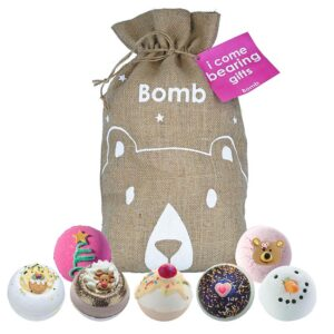 Bomb Cosmetics Gift Blaster Sack - 'I Come Bearing Gifts'