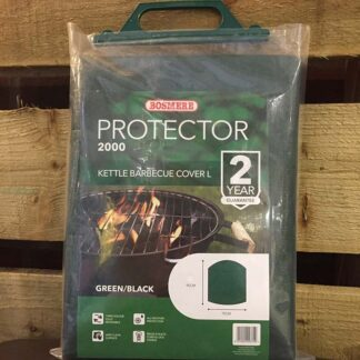 Bosmere Protector 2000 Kettle Barbecue Cover Large (Reversible Green/Black)