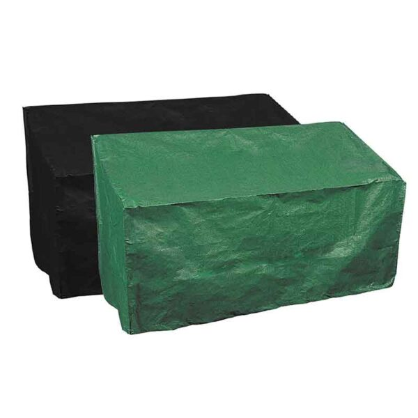 Bosmere Protector 2000 2 Seat Bench Cover (Reversible Green/Black)