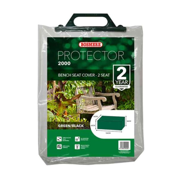 Bosmere Protector 2000 2 Seat Bench Cover in carry bag