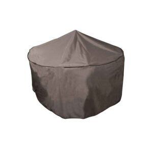 Bosmere Protector 5000 Circular 4/6 Seat Patio Set Cover (Storm Black)