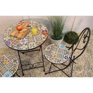 Braga Mosaic Bistro Set