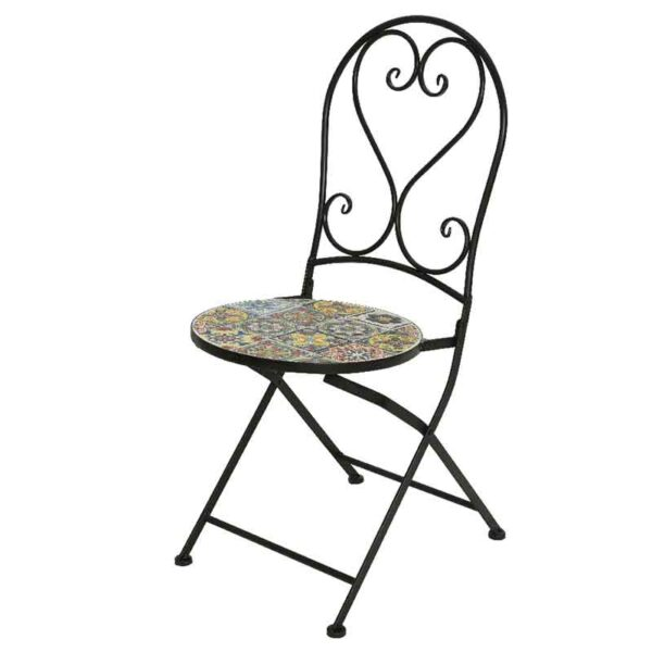 Braga Mosaic Bistro Chair