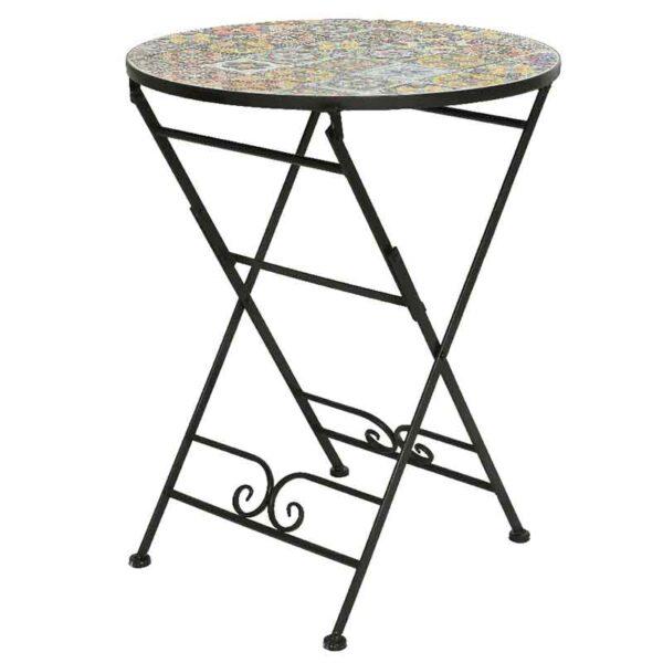 Braga Mosaic Bistro Table
