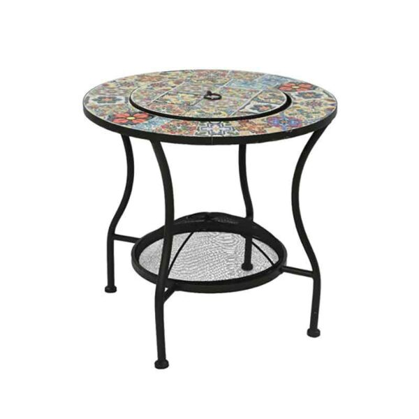Braga Mosaic Table Firepit Away