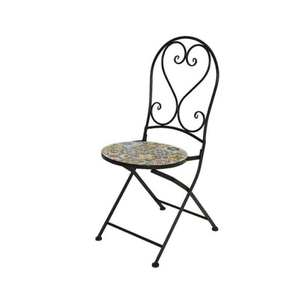 Braga Mosaic Folding Chair