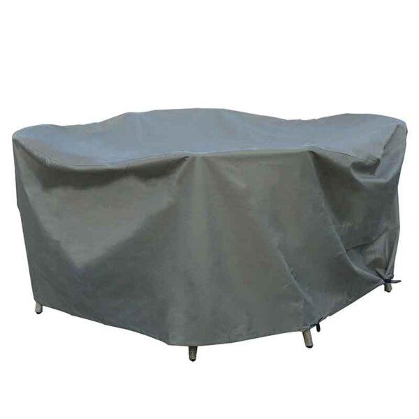 Bramblecrest 100 & 120cm Round Dining Table Set Cover in Khaki