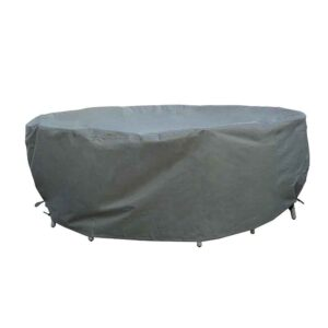 Bramblecrest 150cm Round Table Set Cover in Khaki