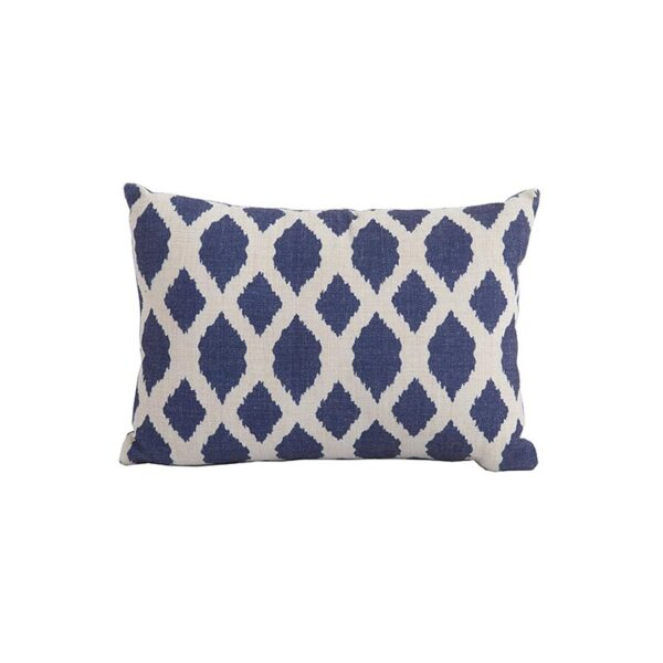 Bramblecrest Blue Trellis Rectangle Scatter Cushion