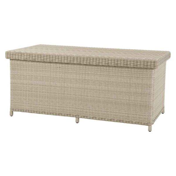 Bramblecrest Chedworth Large Cushion Storage Box in Sandstone