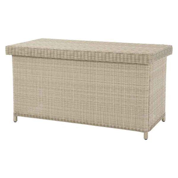 Bramblecrest Chedworth Standard Cushion Storage Box in Sandstone