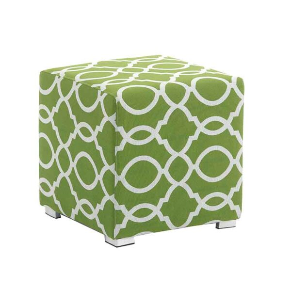 Bramblecrest Cubic Stool - Amazon (green)