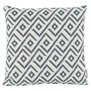 Bramblecrest Green Geometric Square Scatter Cushion