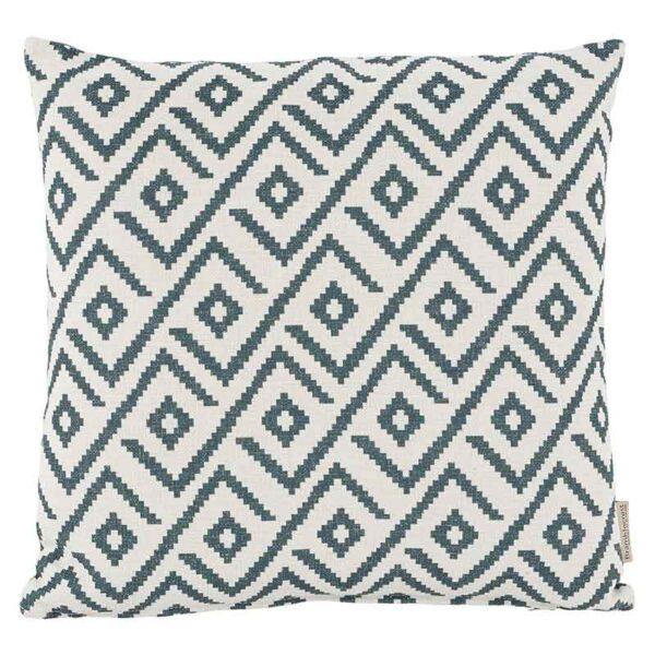 Bramblecrest Green Geometric Square Scatter Cushion