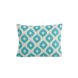 Bramblecrest Green Lattice Rectangle Scatter Cushion
