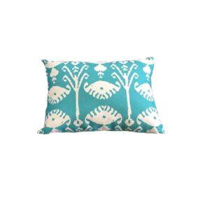 Bramblecrest Green Shell Rectangle Scatter Cushion