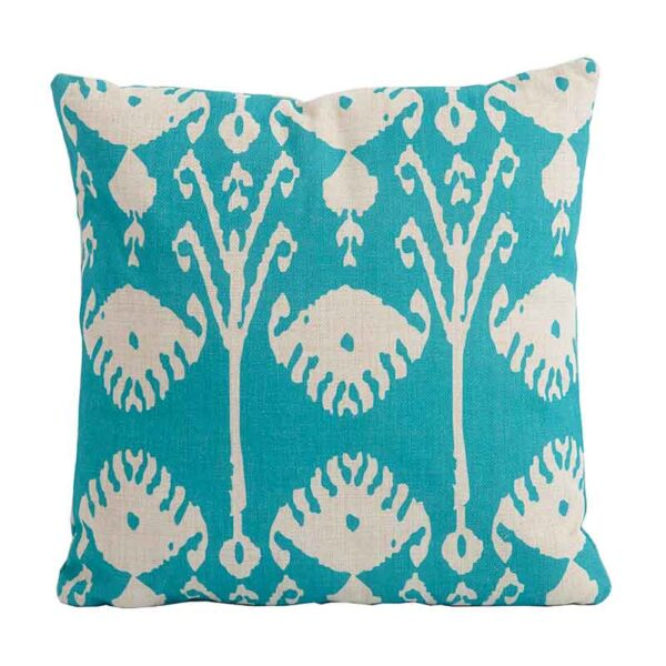 Bramblecrest Green Shell Square Scatter Cushion
