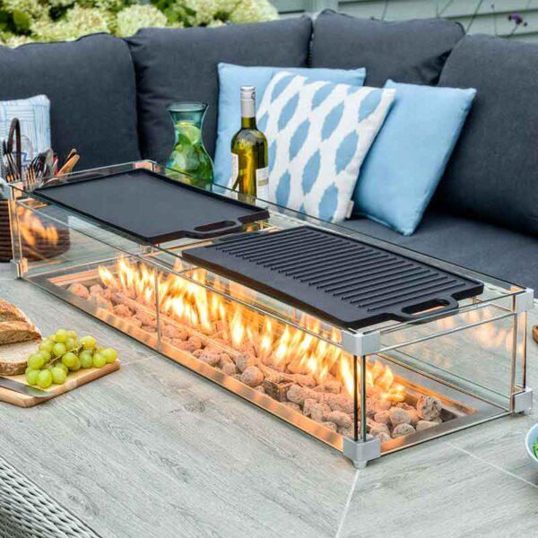 Bramblecrest Griddle for Rectangular Firepit Table
