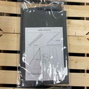 Bramblecrest Lichfield Chichester Truro Parasol Cover (Grey)