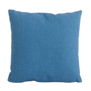 Bramblecrest Light Blue Square Scatter Cushion