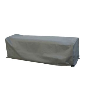 Bramblecrest Long Casual Dining Bench Cover in Khaki