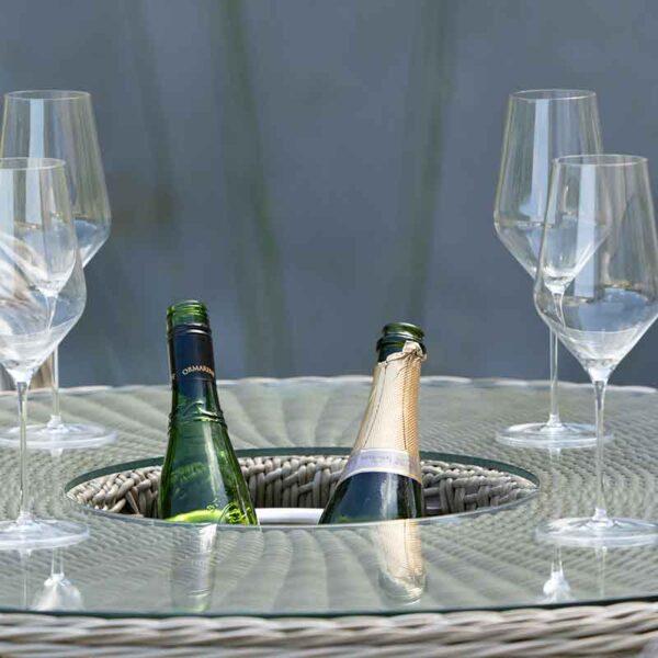 Bramblecrest Monte Carlo Round Bar Set with discreet ice bucket