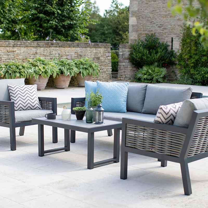 Bramblecrest Portofino 4 Seater, Portofino Outdoor Furniture