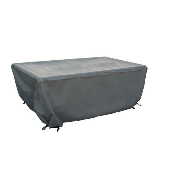 Bramblecrest Rectangular Casual Firepit Table Cover in Khaki