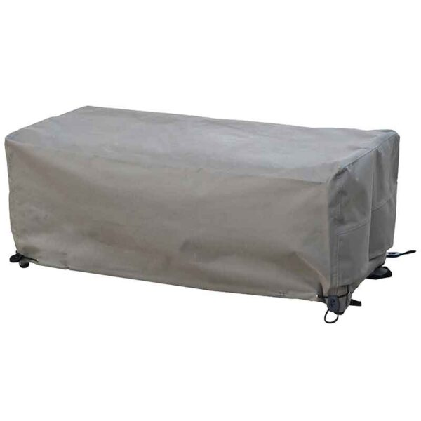 Bramblecrest Short Casual Dining Bench Cover in Khaki