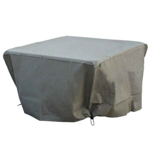 Bramblecrest Square Casual Dining Table Cover in Khaki