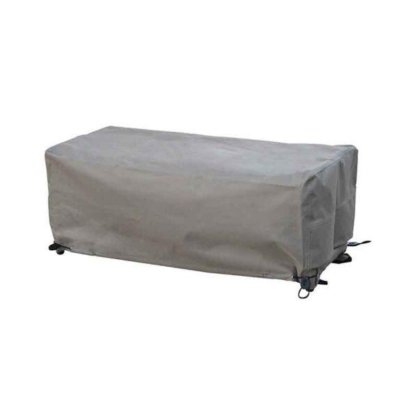 Bramblecrest Tetbury Casual Dining Bench Cover in Khaki