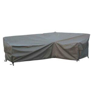 Bramblecrest Tetbury L Shape Long Left Sofa Cover in Khaki