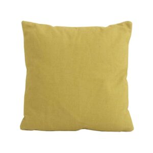 Bramblecrest Yellow Square Scatter Cushion