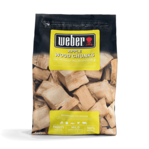 Weber Wood Chunks for barbecue smoking - Apple (1.5 kg)