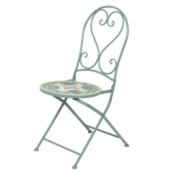 Cancun Iron Bistro Chair