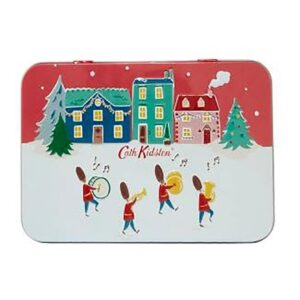 Cath Kidston Christmas Village Hand & Lip Tin