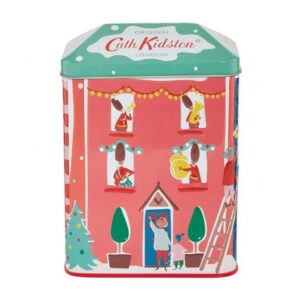 Cath Kidston Christmas Village House Shaped Tin