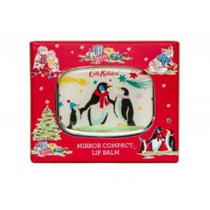 Cath Kidston Festive Party Animals Compact Mirror Lip Balm